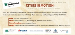 International Seminar 'Cities in Motion'